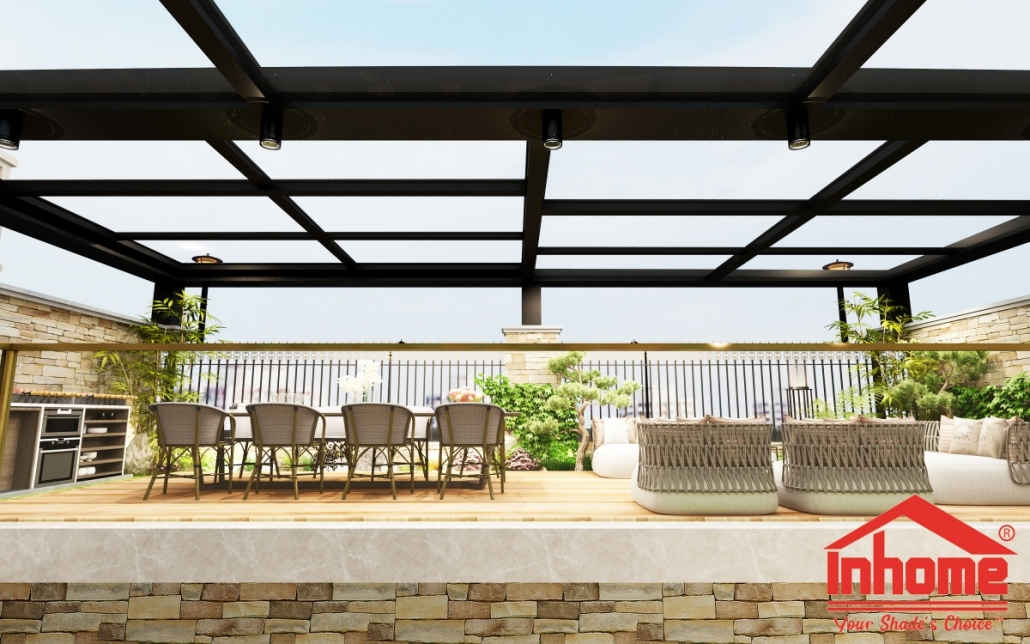 Retractable Awning Malaysia Tettro Smart Retractable Shade Inhome Engineering